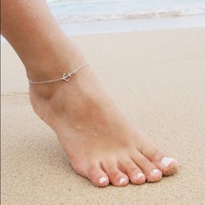 20% OFF 2+🌊  anchor anklet silver